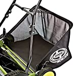 Sun Joe Manual Reel Mower 12 Steel frame and blades 18 inch wide cutting path 9-position height control