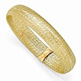 Leslie's 14K Yellow Gold Mesh Stretch Bracelet