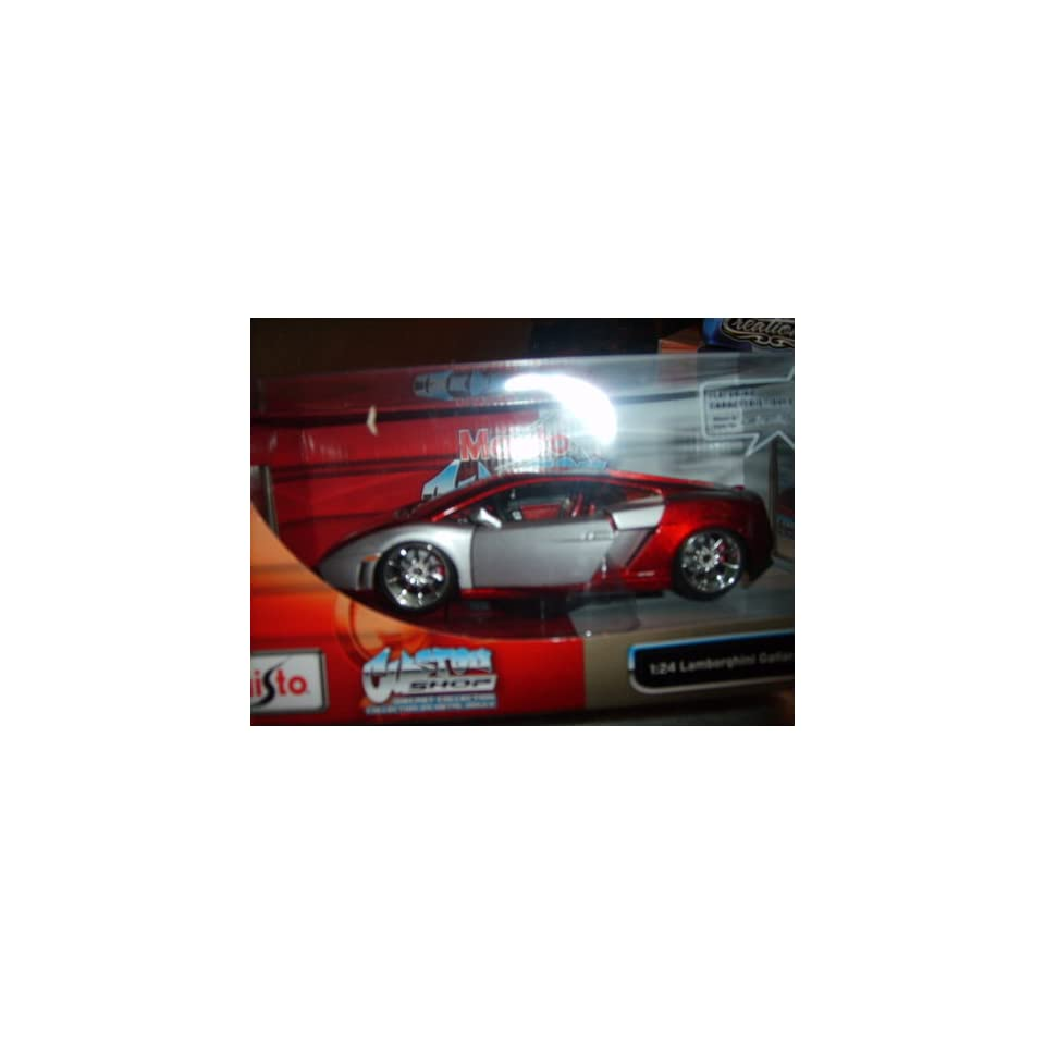 Maisto Custom Shop 124 Lamborghini Gallardo LP 560 4   Red