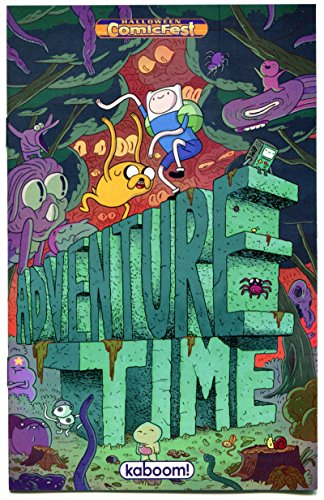 ADVENTURE TIME #1 Halloween ashcan, Promo, 2013, NM, more promos in storE]()