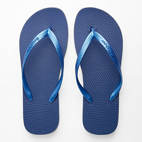 Blue Doux Beauty Slipper Appartement Femmes Antidérapant Simple avec Casual leader Tongs Massage Pantoufles AqFqrgH7wE