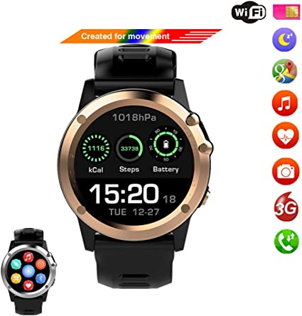 Amazon.com: 3G Smart Watches Android 4.4 OS support WiFi GPS ...