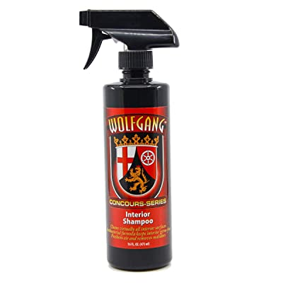 WOLFGANG CONCOURS SERIES WG-2800 Interior Shampoo, 16 fl. oz.: Automotive