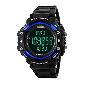 ML Reloj Digital Deportivo Masculino, Masculino y Femenino, Reloj Infantil cronógrafo Luminoso multifunción al