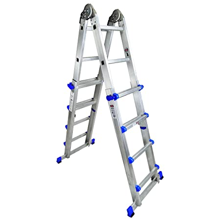 Good Clow Multi Purpose Folding Telescopic Staircase Ladder To EN131