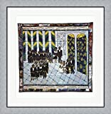 Matisse's Chapel by Faith Ringgold Framed Art Print Wall Picture, Flat Silver Frame, 30 x 31 inches