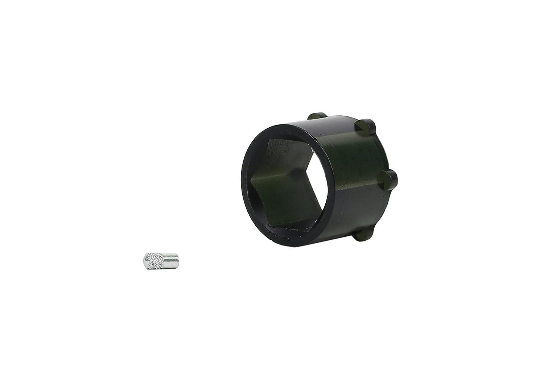 Nolathane REV190.0026 Black Steering Rack /& Pinion Bushing Front
