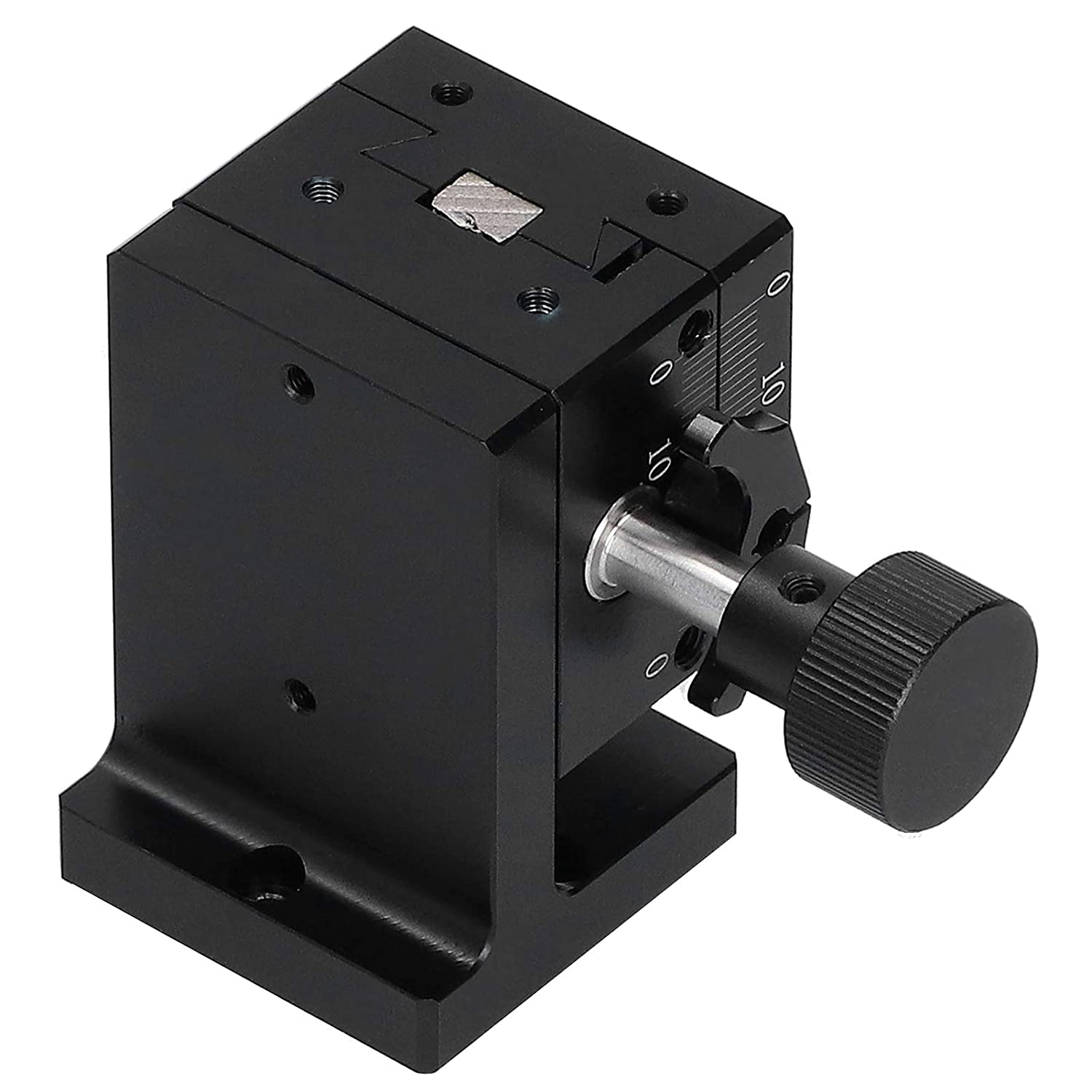 Z Axis Dovetail Manual Trimming Platform,High Accuracy Gear Lifting Stage,Silent Scratch‑Resistant,Drop‑Proof,for Optical Equipment Measuring Devices,Semiconductor Equipment,Microscopes