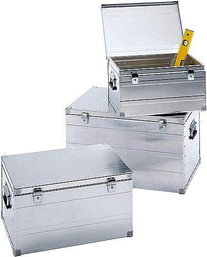 Zarges de transporte en aluminio – Kit de 3 – 1 caja de 42 L, 66 L, 123