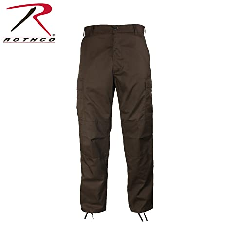 "8706affc037f6 Rothco Tactical BDU Pants, Brown, 2XL (43""-47"" ..."