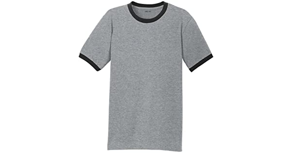 a2b5461ef497 Joe's USA Men's Soft 5.4-oz 100% Cotton Ringer T-Shirts in Adult Sizes:  S-4XL