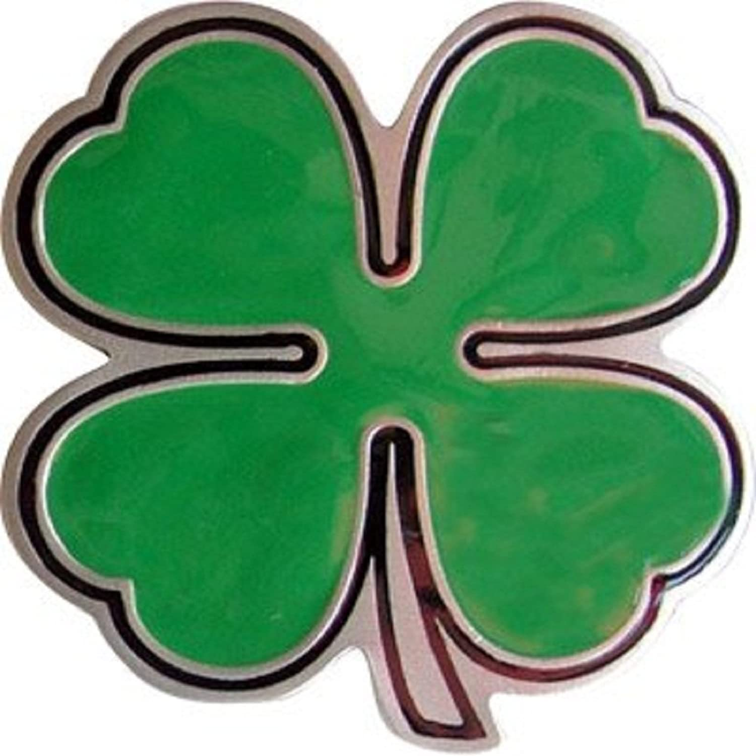 4 Leaf Clover Belt Buckle