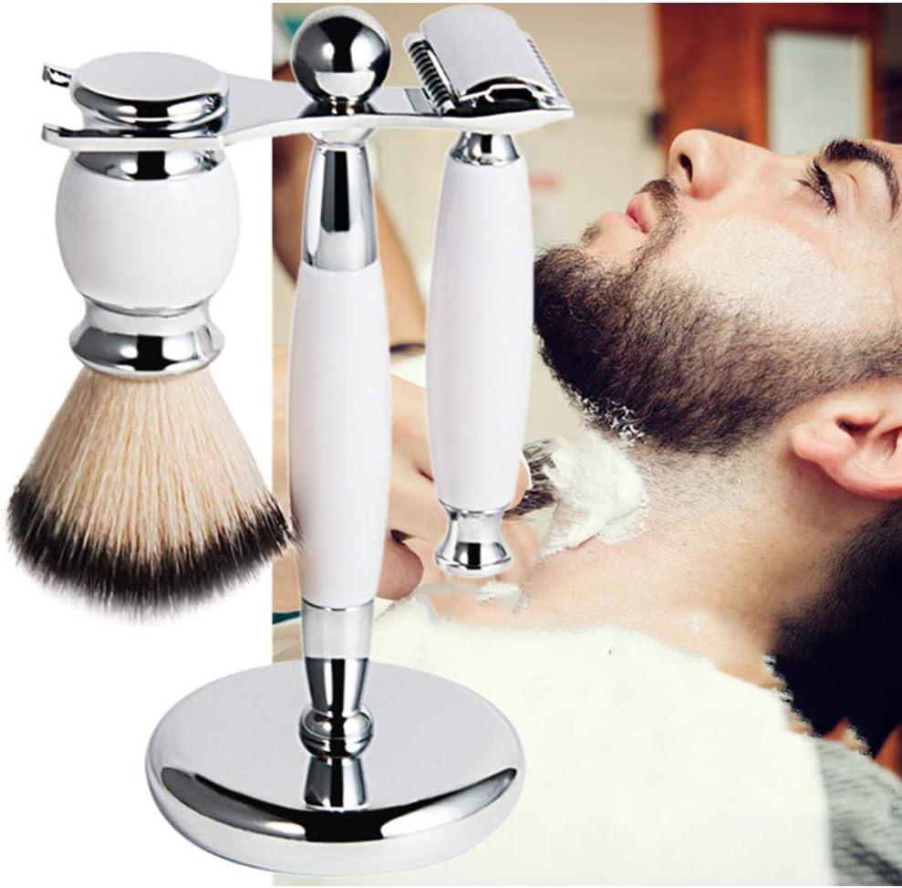 WOCTP Cepillo De Barba De Afeitar para Hombre Kit De Afeitado De ...