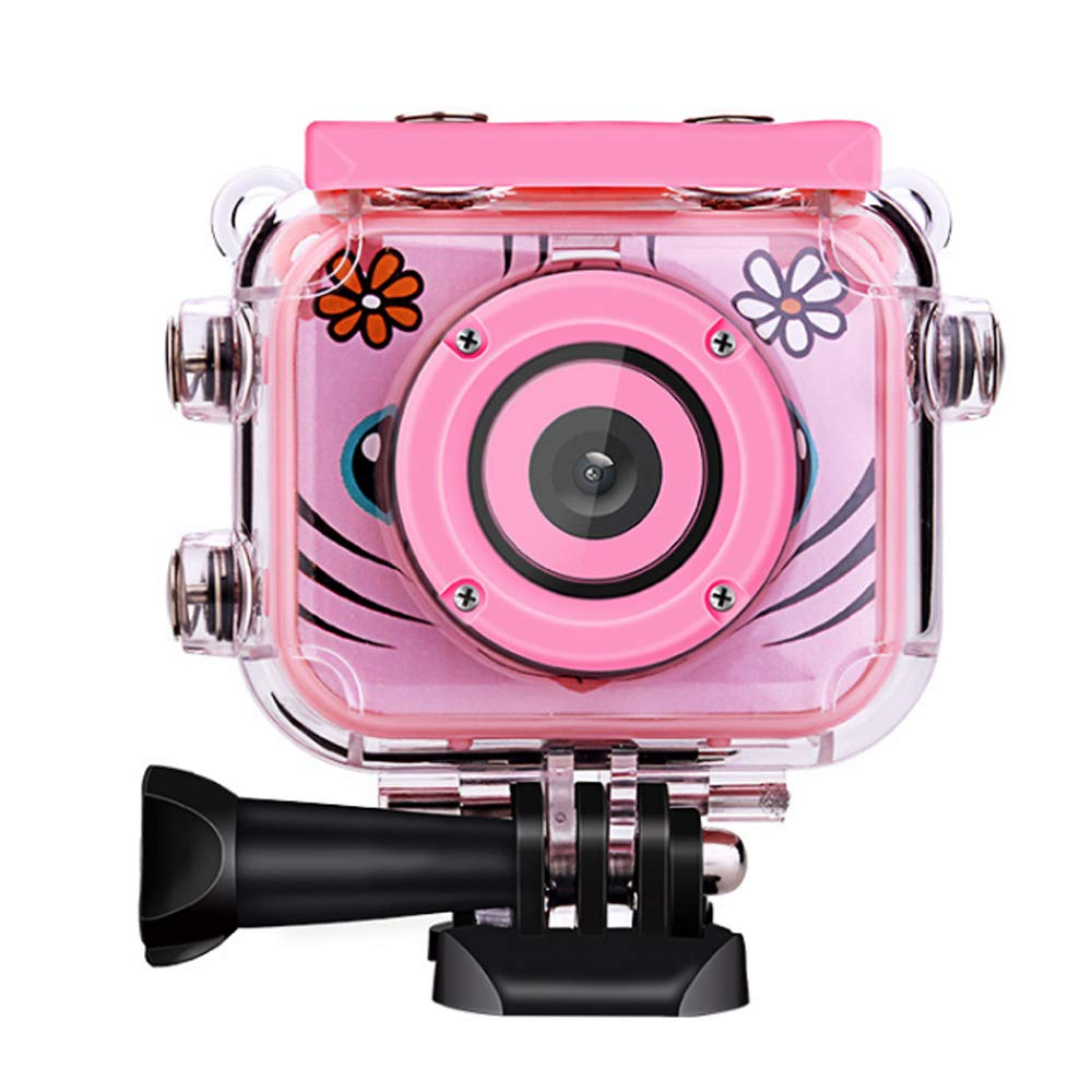Camera Mini Children's Multi-Function 2 inch Screen can be Photographed dustproof Waterproof Shatter-Resistant Cute Creative Simple Outdoor Sports Portable HD Birthday Gift