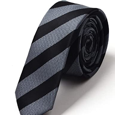 Corbata británica estrecha de la raya del estudiante de los ...