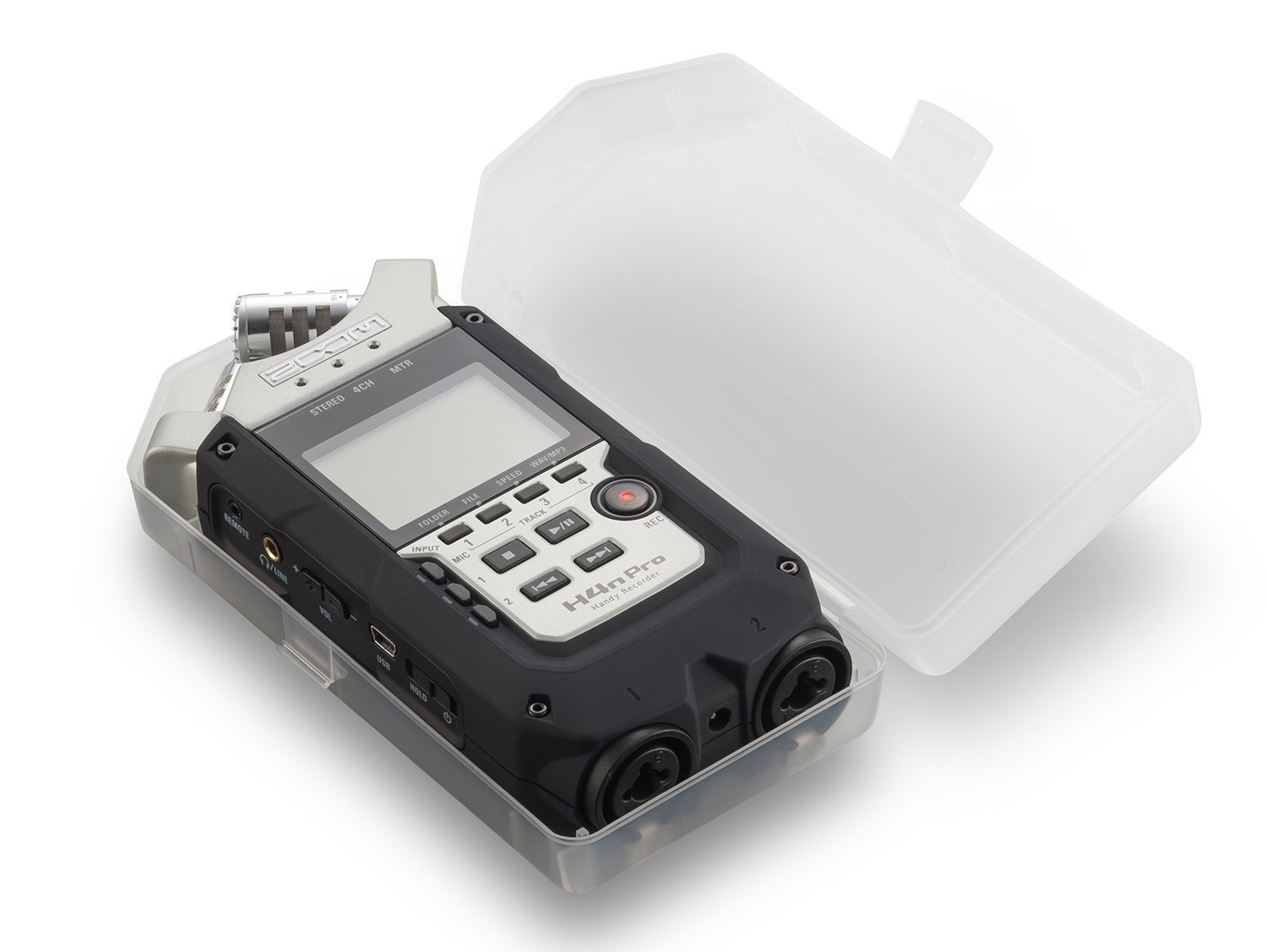 Zoom H4n PRO 4-Channel Handy Recorder Bundle with Movo UHF Wireless Quad Lavalier Microphone System by Movo (Image #3)