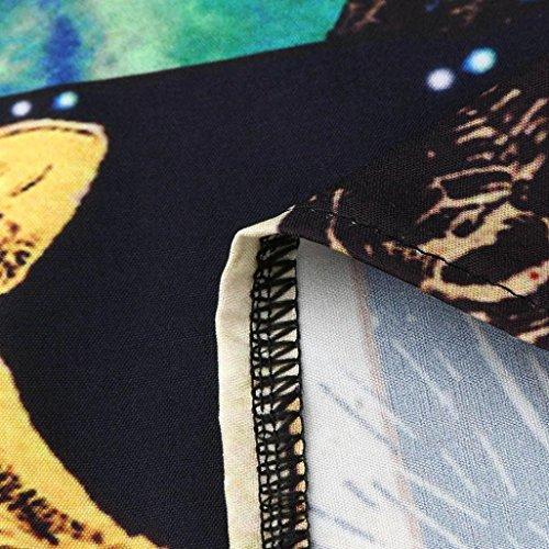 Stampa Abito Donna Casual Estate VICGREY Vestiti Maniche Da Vestiti Senza Eleganti Slim Vestito Canotte Vestiti Beach Gonne Abito Q Gonne Estate qwzE4xEX
