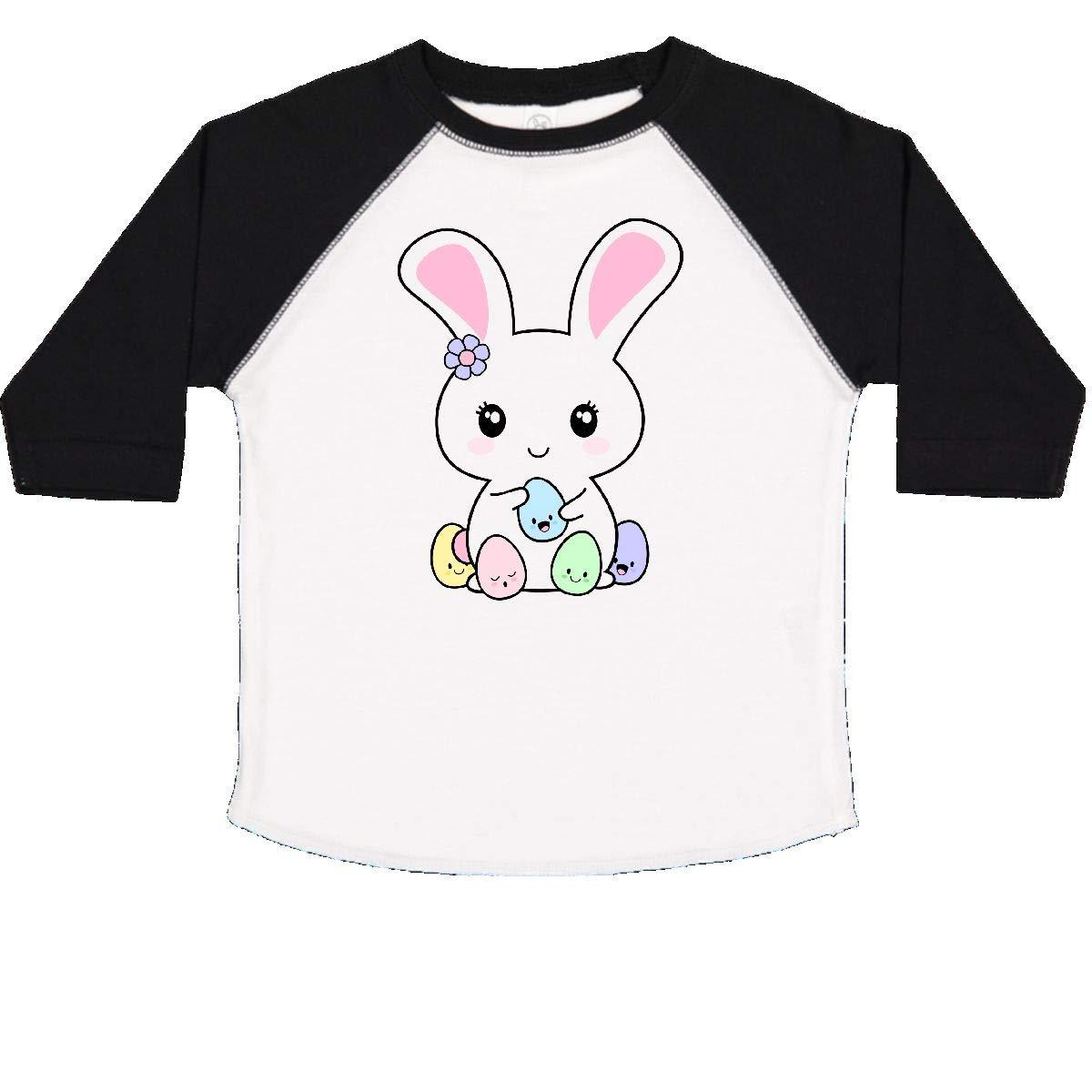 inktastic Kawaii Easter Bunny Toddler T-Shirt