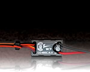 Castle Creations CSE010-0153-00 CC BEC 2.0 Wp, 15A Max Output Waterproof Voltage Regulator