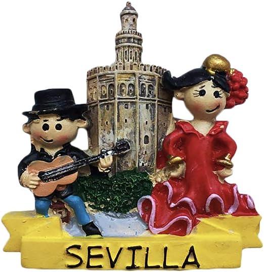 3D España Sevilla Singger Dancer Refrigerador Imán Recuerdos de ...