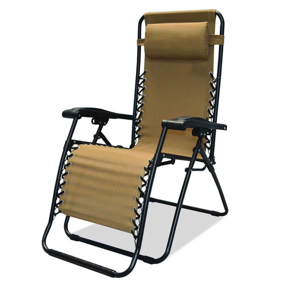 AmazoncomCaravan Sports Infinity Zero Gravity Chair Beige