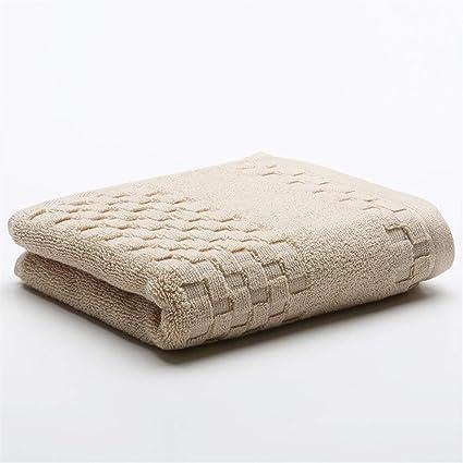 Upstudio Elegante Juego de baño Toallas faciales Toalla súper Absorbente Toallas absorbentes 100% algodón Mano