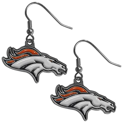 cheap denver broncos earrings