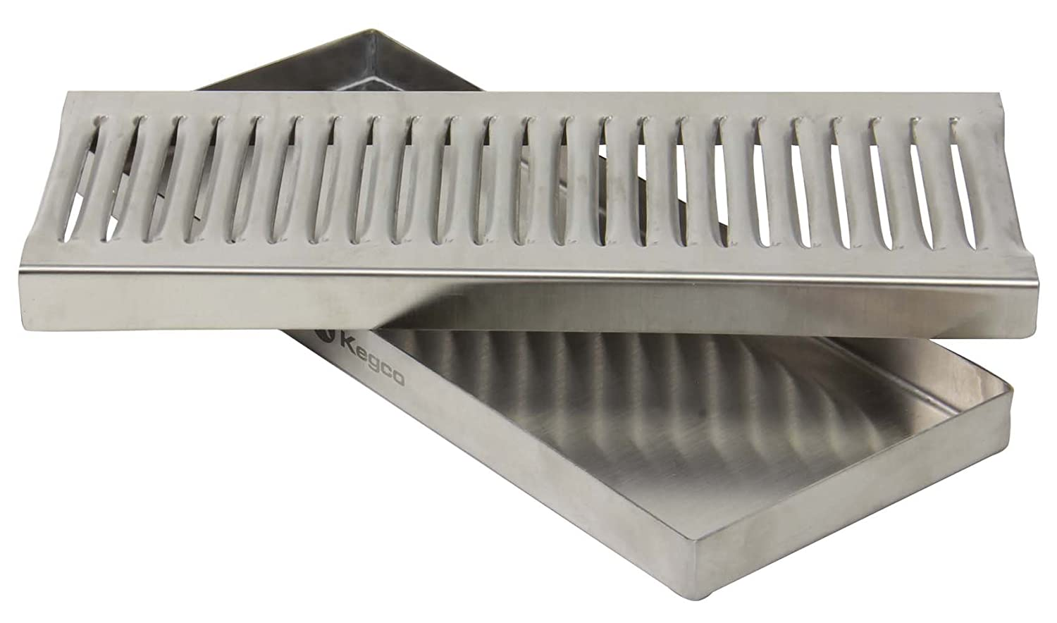 12 Beer Drip Tray Stainless Surface Mount No Drain Beverage Factory MM DP-120