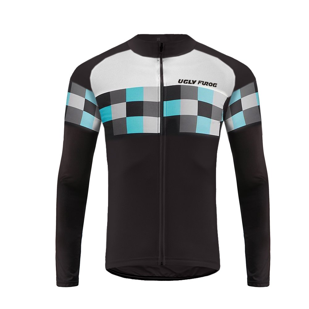 Uglyfrog Sportern 2015新しいファッションアウトドアスポーツ春長袖サイクリングジャージーTriathlon clothing B074DWBW63 Medium|カラー14 カラー14 Medium
