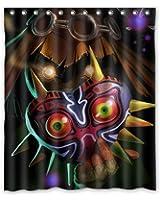 Tanger Mida Custom Sparkling Stars New Legend Of Zelda Link Majoras Mask  Quote Custom Waterproof Shower