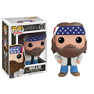 Funko POP Television Willie Robertson Duck Dynasty Vinyl Figure: Funko Pop! Television: Toys & Games