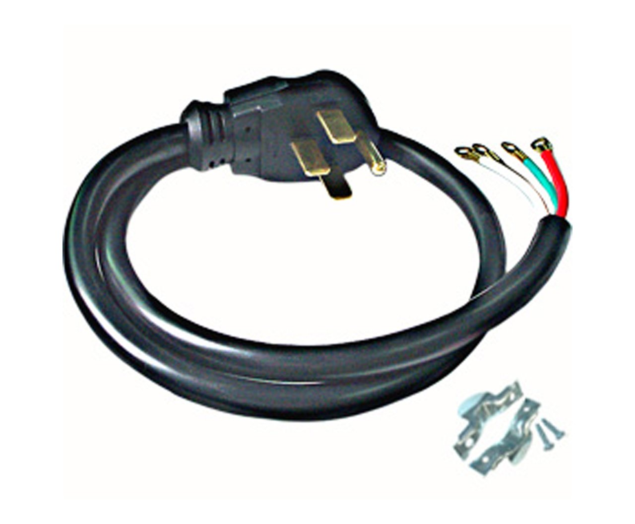 Conntek RL-40401 4-Feet 40-Amp with Wire Range Power Cord