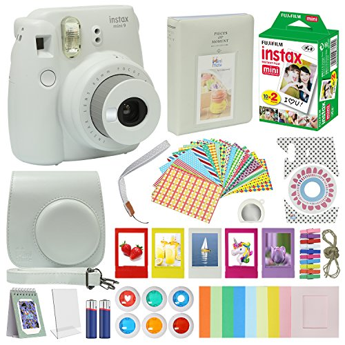 Film Cameras AccessoriesFujifilm Instax Mini 9 Camera Flamingo Pink  Accessory kit for Fujifilm