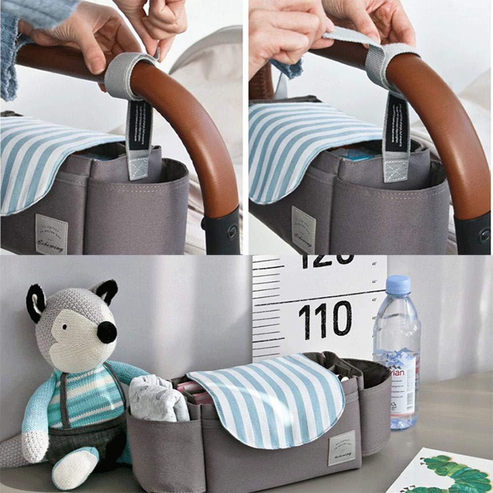 PROKTH Kinderwagen Storage Organizer Tasche Outdoor Baby Windel auf Kinderwagen Trolley Kinderwagen h/ängen Baby Wickeltasche Mommy Bag