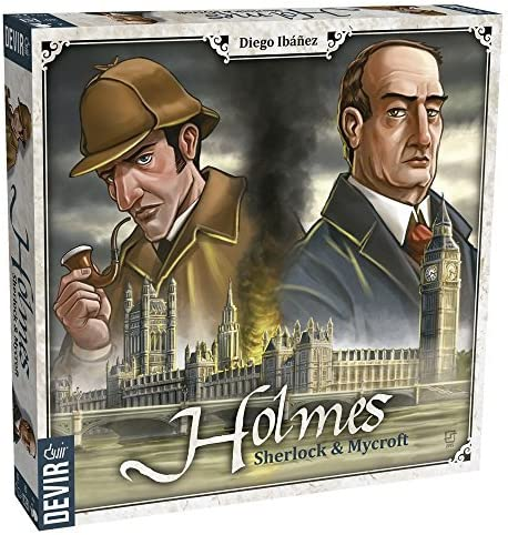 Holmes: Sherlock & Mycroft by Devir Americas: Amazon.es: Juguetes y juegos