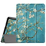 Fintie Samsung Galaxy Tab S2 9.7 Smart Shell Case - Ultra Slim Lightweight Stand Cover with Auto Sleep/Wake Feature for Samsung Galaxy Tab S2 Tablet, Blossom