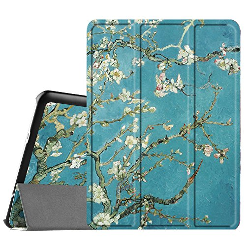 Fintie Samsung Galaxy Tab S2 9.7 Case - Ultra Lightweight Protective Slim Shell Stand Cover with Auto Sleep/Wake Feature for Samsung Galaxy Tab S2 9.7 Inch Tablet, Blossom