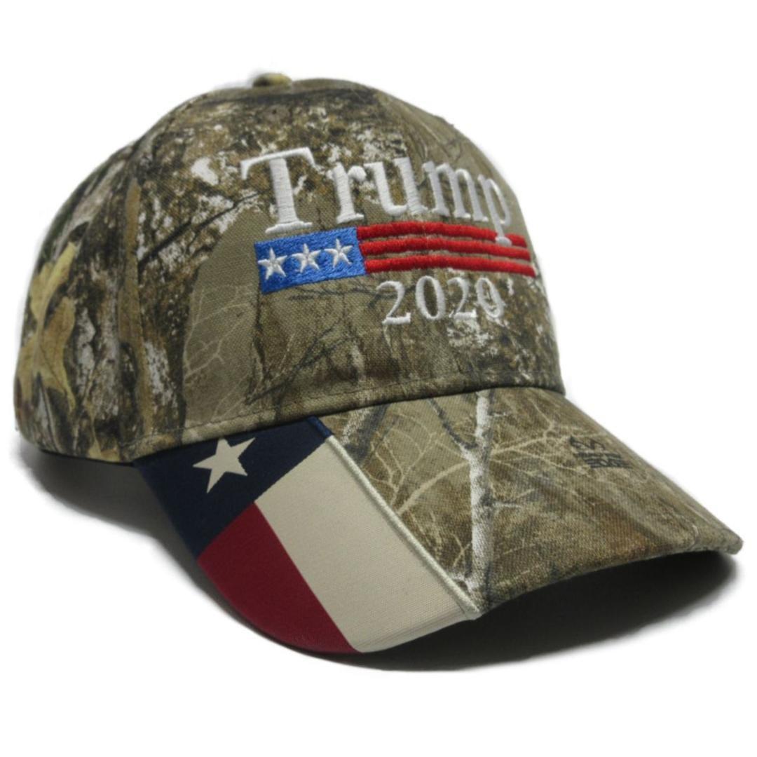 Trump Cap Keep America Great Hat President 2020 Realtree Edge TX