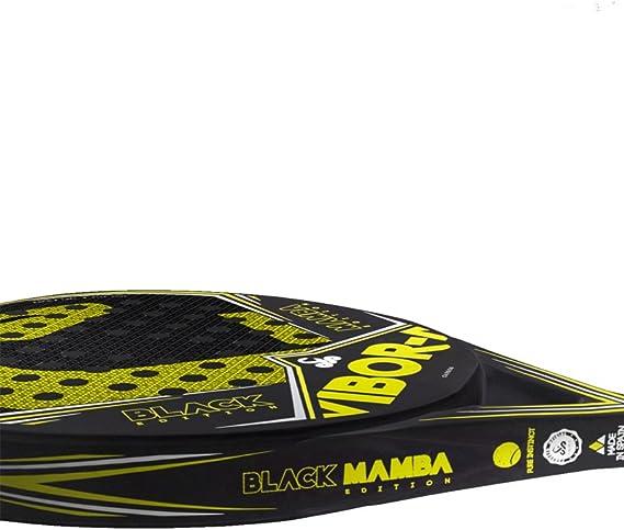 VIBORA Black Mamba Edition Liquid 2018 - Pala de padel, Multicolor ...