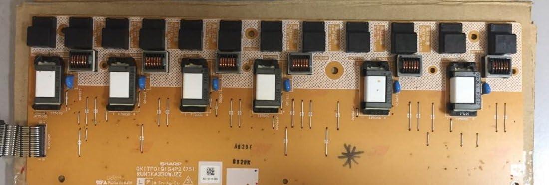 RUNTKA330WJZZ Backlight Inverter 4 Compatible for Sharp LC-52D64U