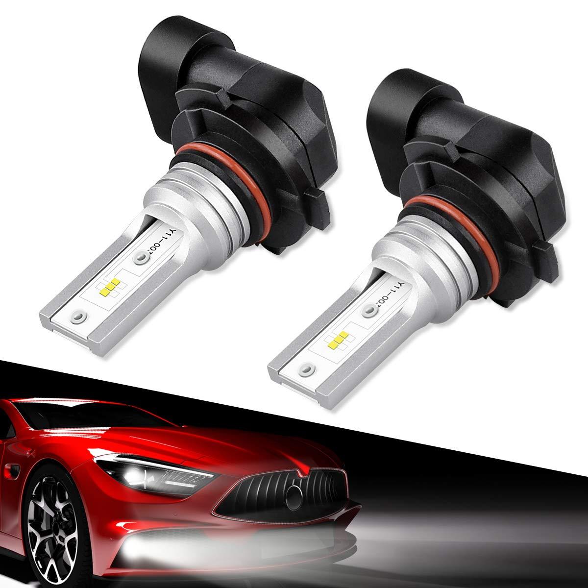 9140 9145 H10 Led Fog Light Bulbs, SEALIGHT 9045 9040 Led Fog Lamps High Power 6CPS Led Chips, 6000K White(Pack Of 2) 9145 9140 H10