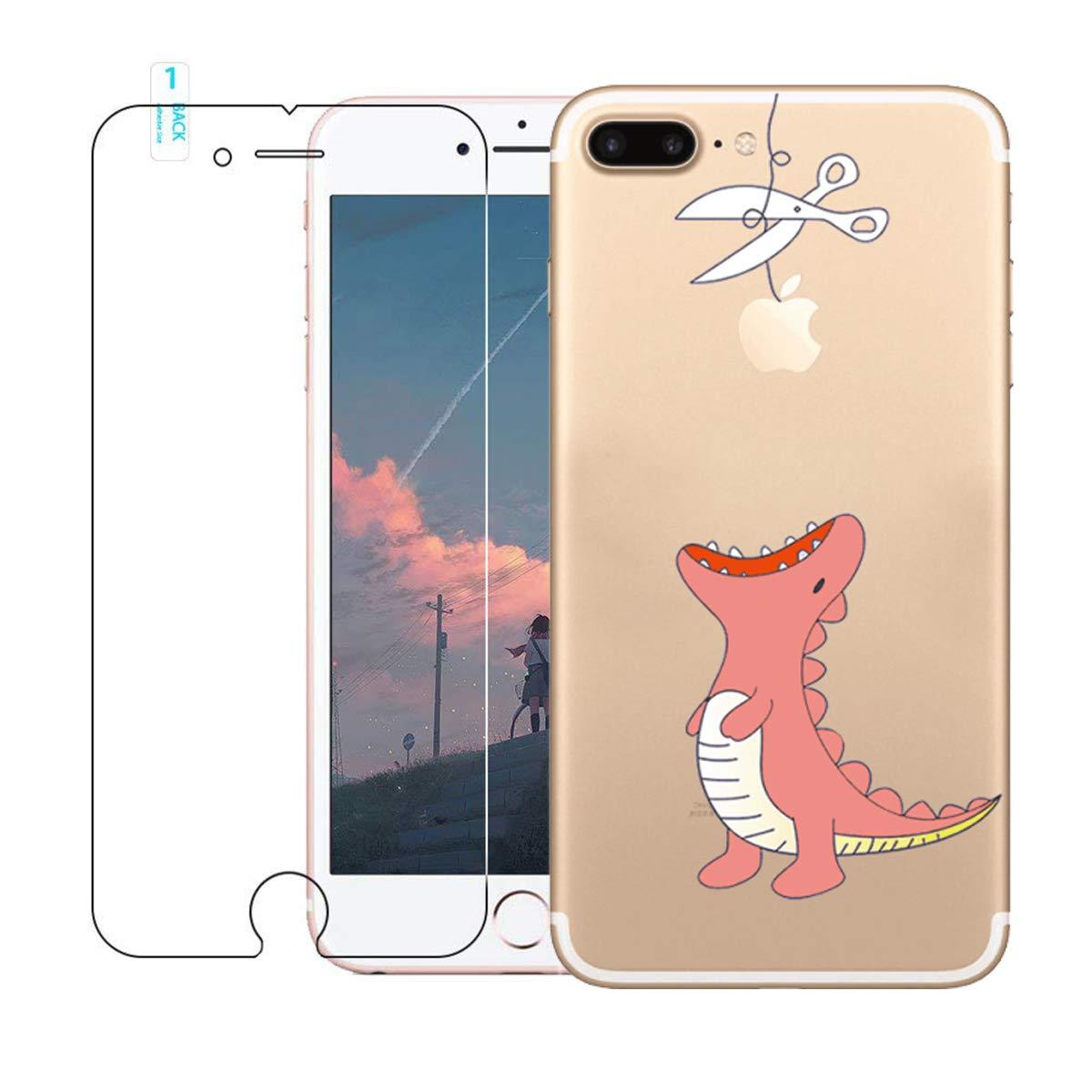 fundas iphone 7 plus transparentes con dibujos