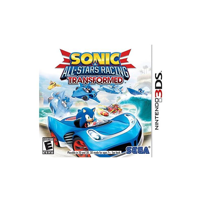 Sonic & All-Stars Racing Transformed - Nintendo 3DS