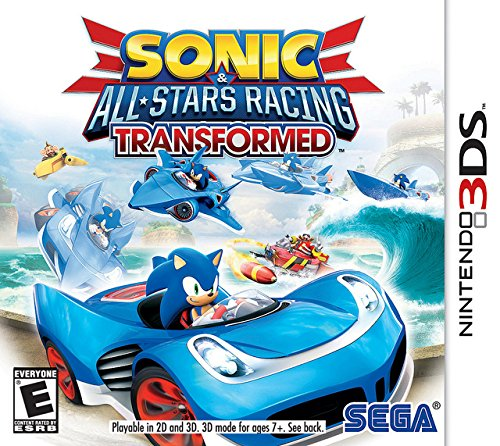 Sonic & All-Stars Racing Transformed - Nintendo 3DS (Sonic Games For Nintendo Ds)