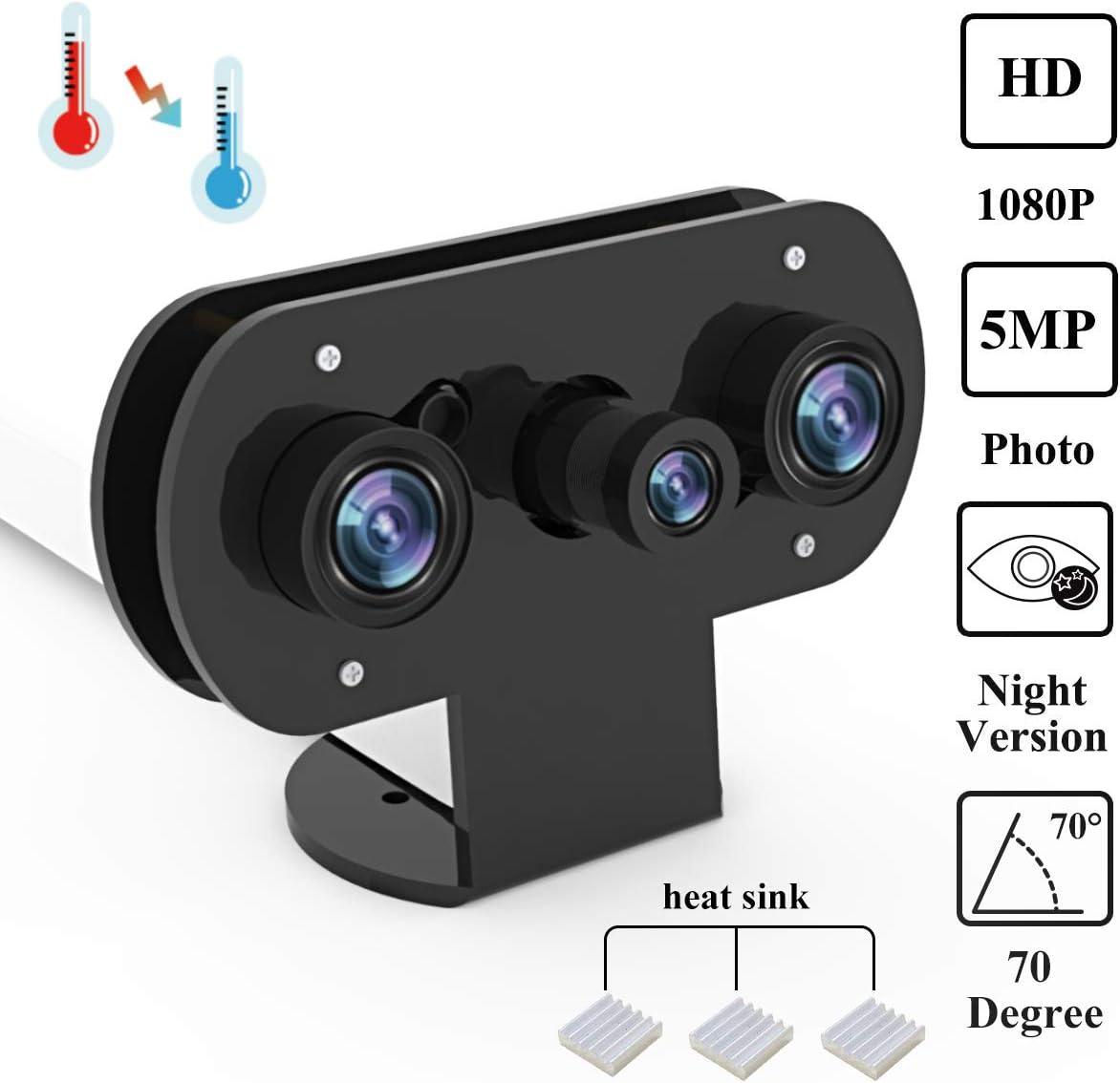 Para Raspberry Pi cámara infrarroja de visión nocturna con funda ...