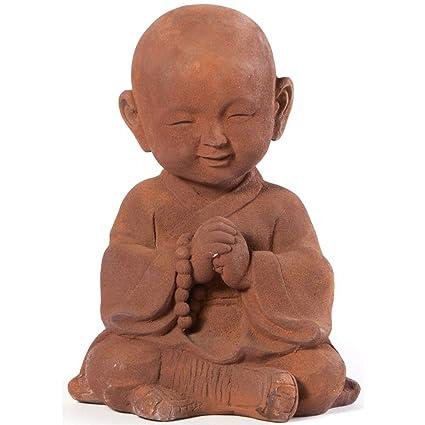 Alfresco Home Praying Buddha Garden Statue