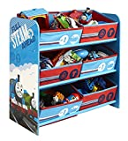 thomas the train electronic - Thomas the Train and Friends Childs Kids Childrens Toy Organizer Storage Bin