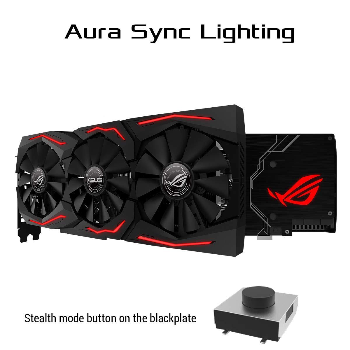 ASUS ROG Strix GeForce RTX 2060 Overclocked 6G GDDR6 HDMI DP 1.4 Gaming Graphics Card (ROG-STRIX-RTX-2060-O6G) by ASUS (Image #8)