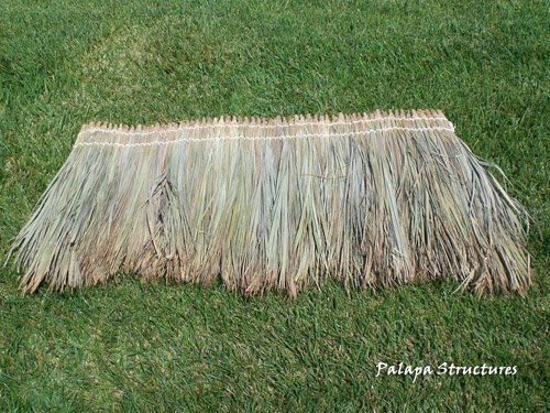 Fijian Thatch Roofing Panel - Roofing Thatch