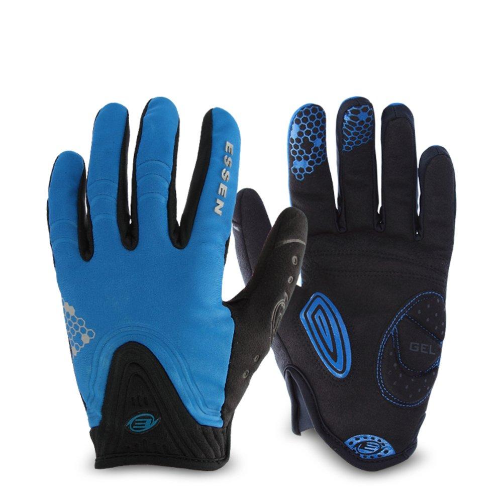 DXG&FX Herbst Winter Reithandschuhe Wind und warme Handschuhe Outdoor Mountain Road Bike Handschuhe